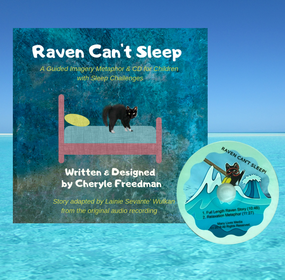 Raven Can't Sleep! Book & CD